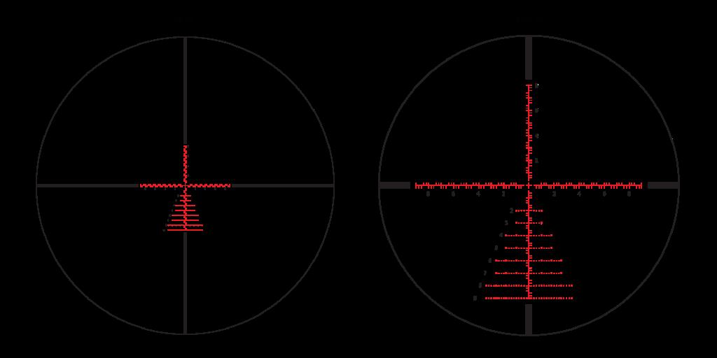 APLR2 FFP IR MIL 4-14x44 reticle