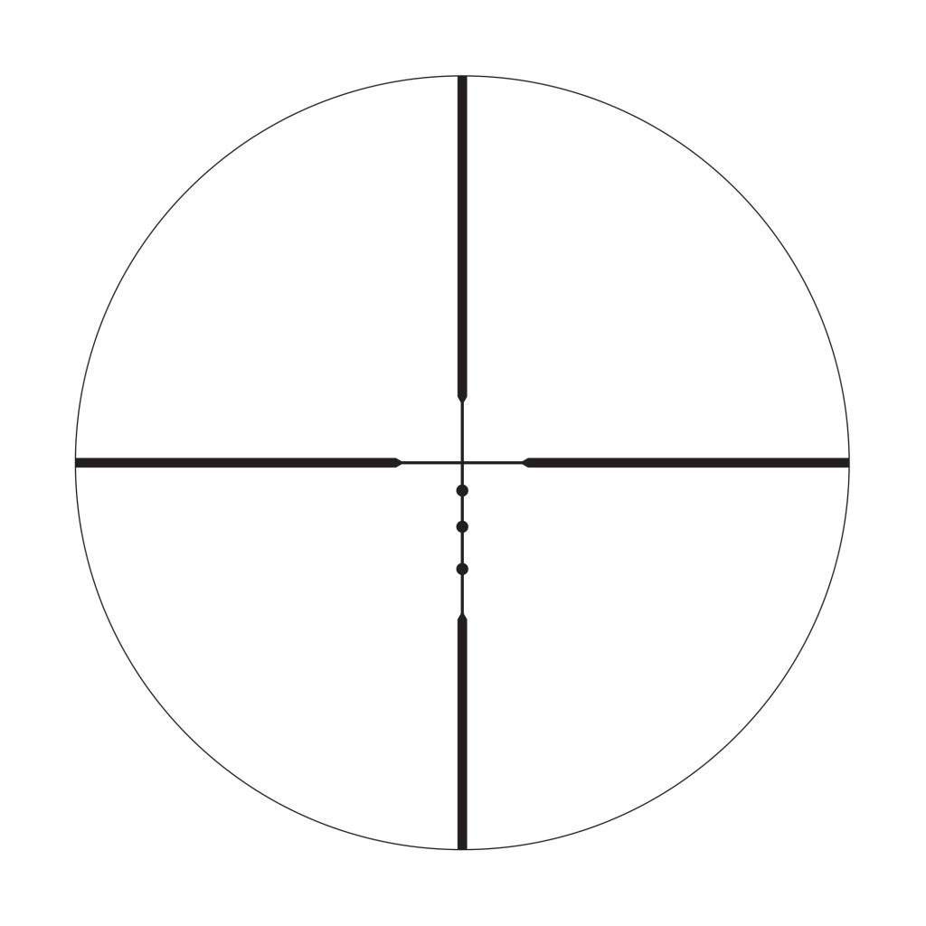 BDC 22 Rimfire reticle
