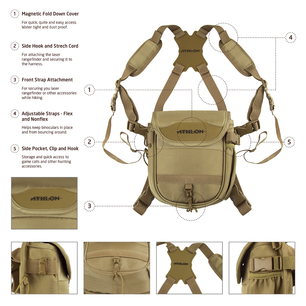 Binocular Harness Features