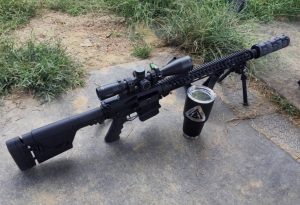 Dirk: When my Ares BTR RifleScope arrived I was immediately surprised...Its built like a tank!
