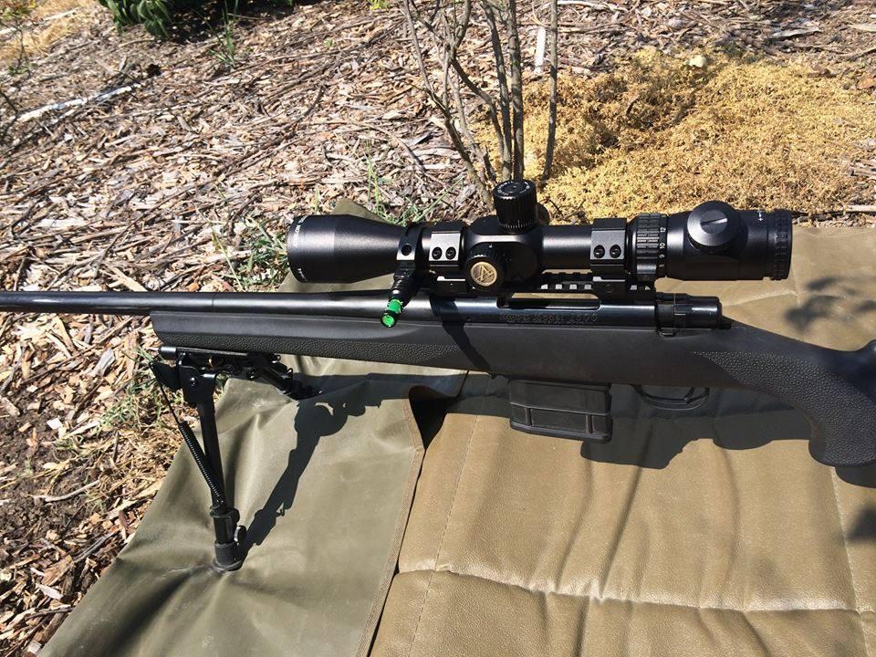 Felipe: Athlon Riflescopes are Super Clear & Turret Clicks