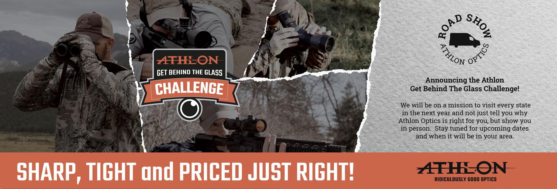 Athlon Optics - Rifle Scopes, Binoculars, Red Dot Scopes