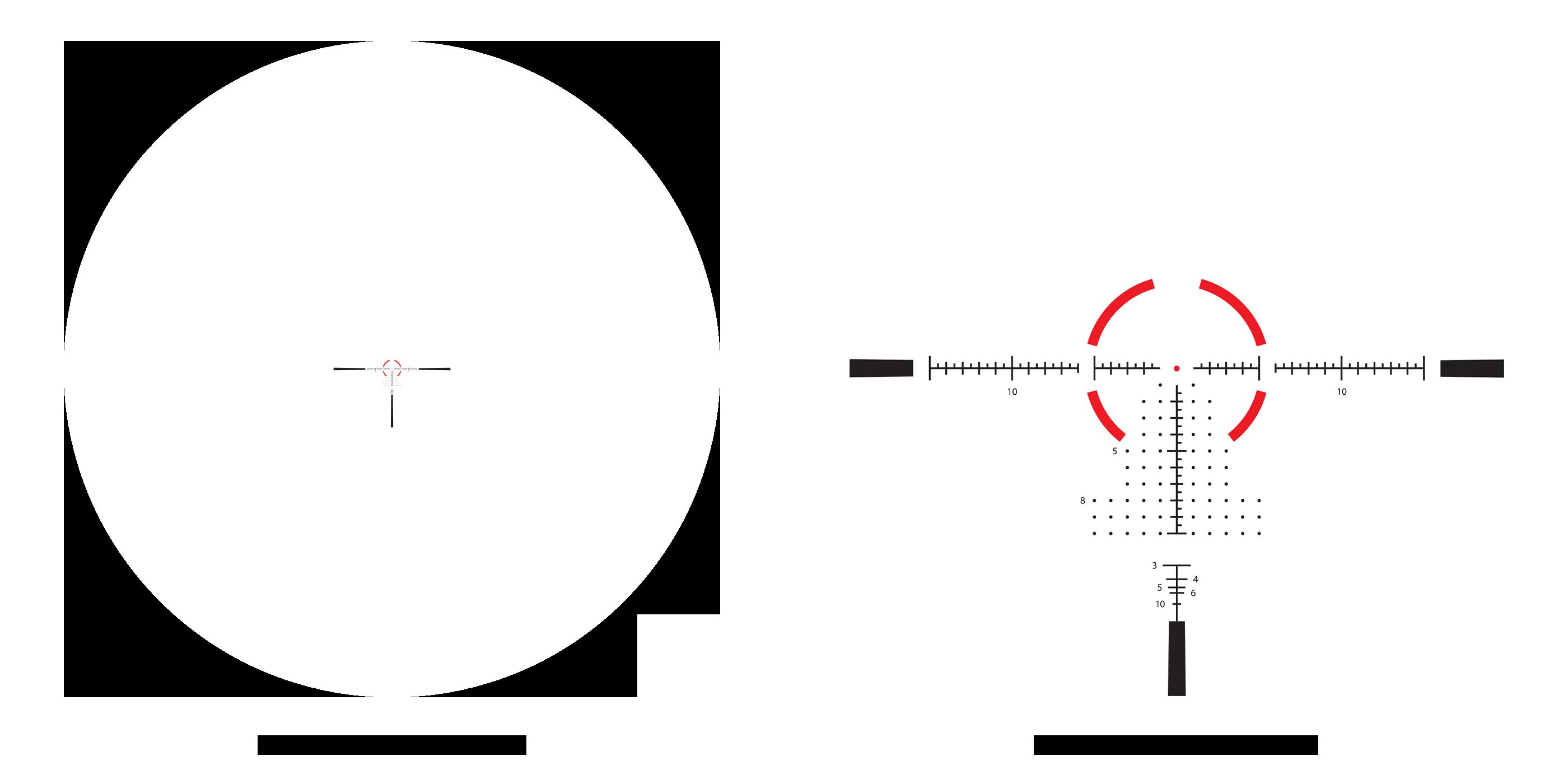ATMR3 1-10x28 1x-10x reticle