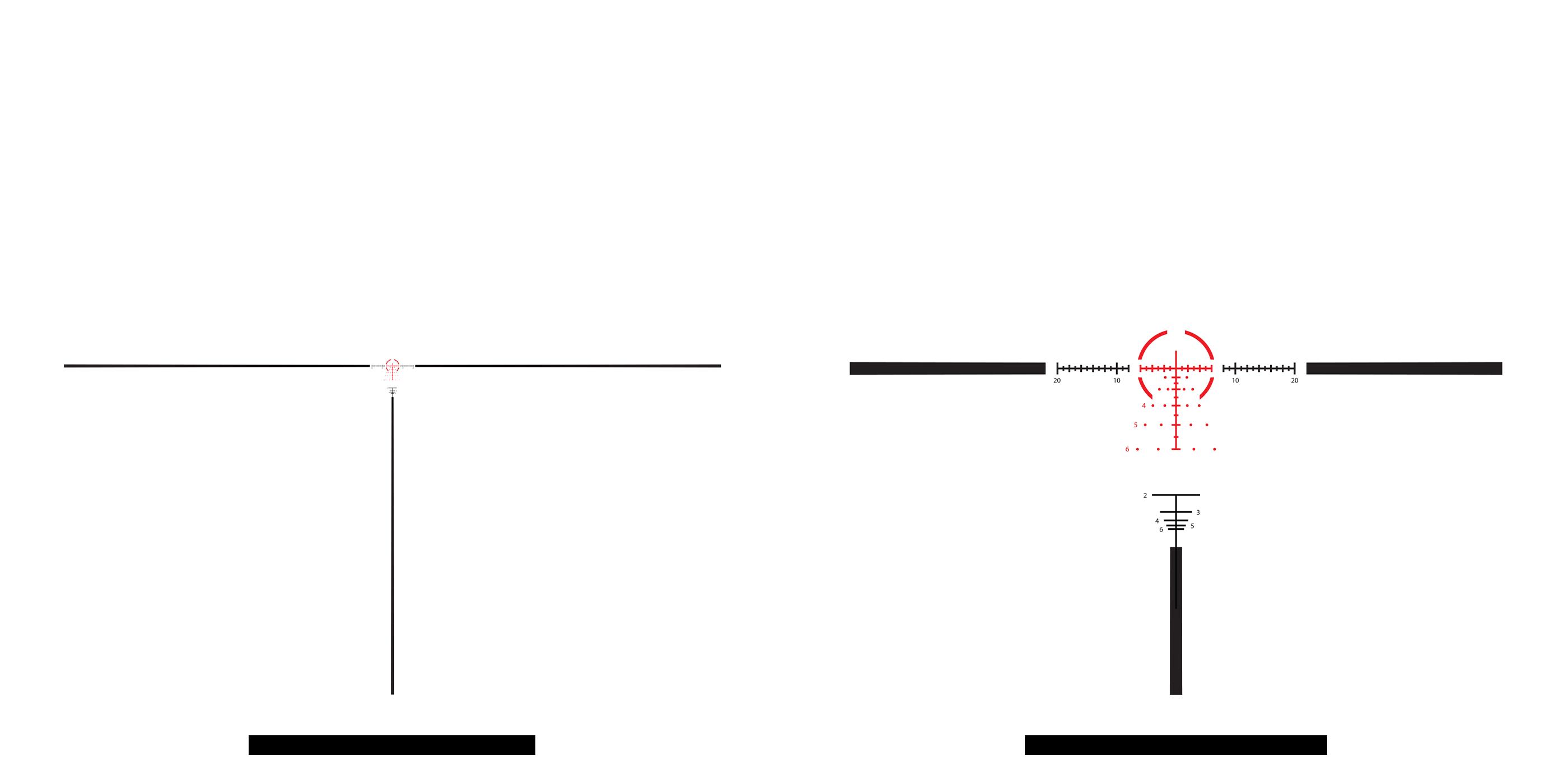 AHMR2 2x -12x Reticle