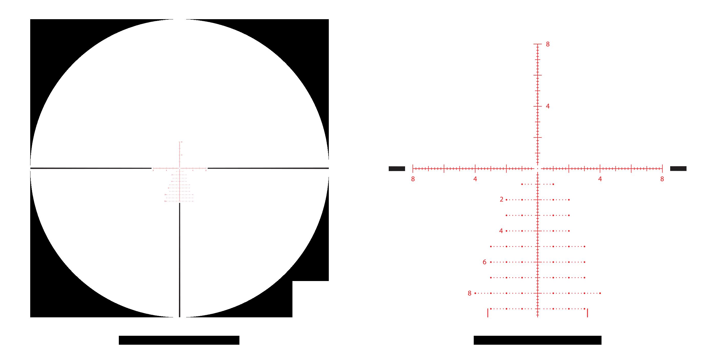 APRS6 4-20x reticle